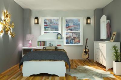 Комфортна спалня с удобен матрак