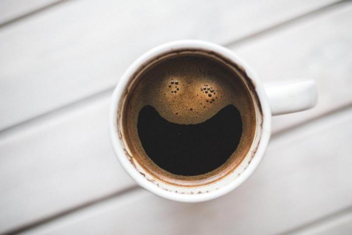 Чаша с прясно сварено кафе