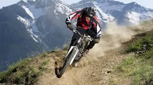 велосипедист в планината