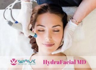 почистване на лицето с HydraFacial MD